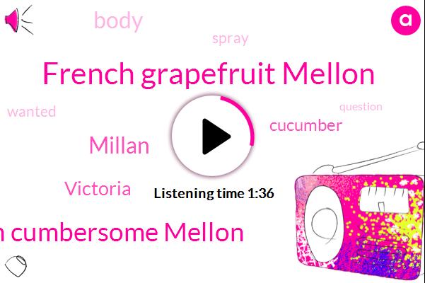 French Grapefruit Mellon,Hugh Cumbersome Mellon,Millan,Victoria