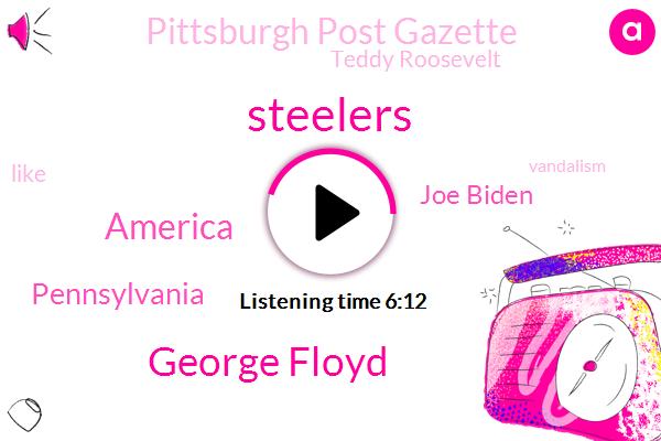 Steelers,George Floyd,America,Pennsylvania,Joe Biden,Pittsburgh Post Gazette,Teddy Roosevelt,Vandalism,Avery,Blue Collar Union,Pittsburgh,Heinz Field,Saints Catholic Saints,Ryan,Columbus,Parnell