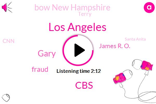 Los Angeles,CBS,Gary,Fraud,James R. O.,Bow New Hampshire,Terry,CNN,Santa Anita,Alex Stone,ABC,California,Santa Anita Park,Boston,Denmark