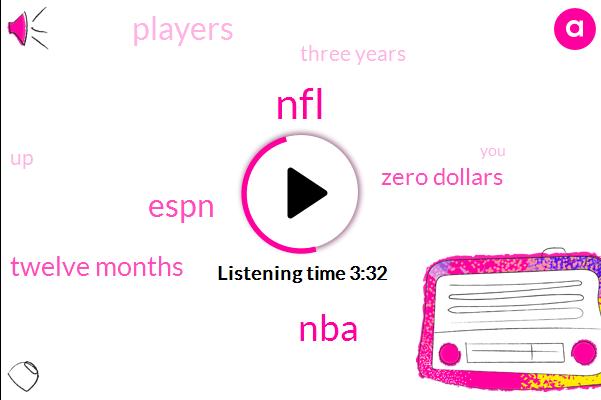 Espn,NFL,NBA,Twelve Months,Zero Dollars,Three Years