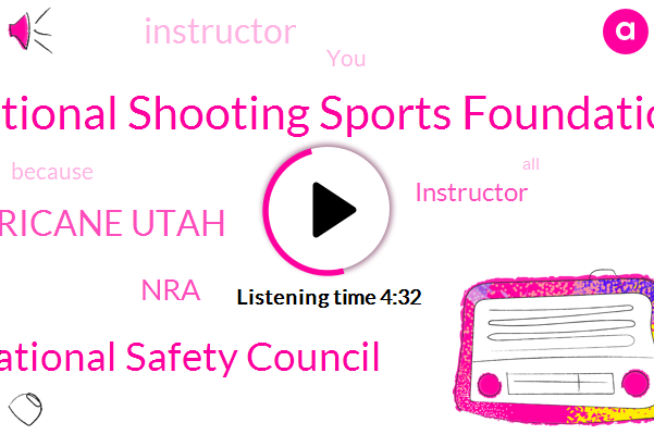National Shooting Sports Foundation,National Safety Council,Hurricane Utah,NRA,Instructor,ABC