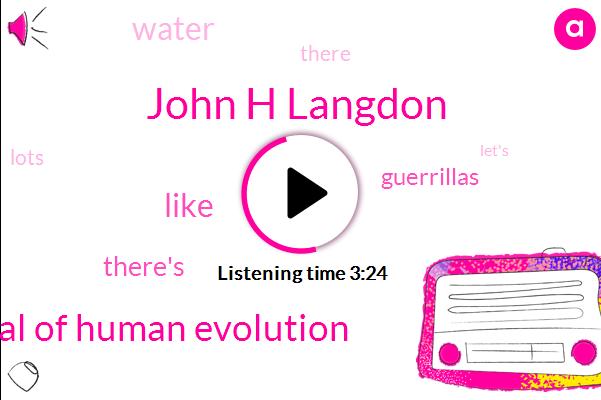 John H Langdon,Journal Of Human Evolution