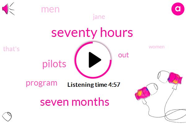 Seventy Hours,Seven Months