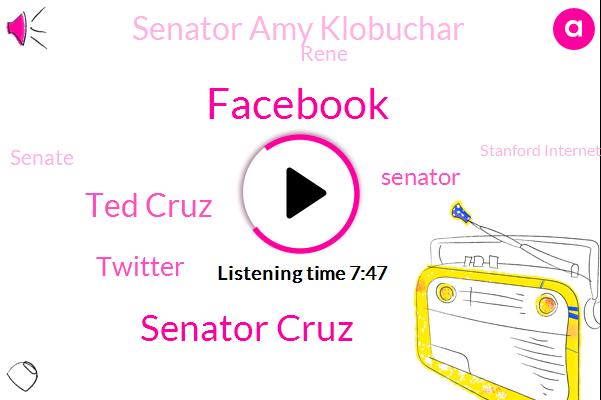 Facebook,Senator Cruz,Ted Cruz,Twitter,Senator,Senator Amy Klobuchar,Rene,Senate,Stanford Internet Observatory,Fara,Writer,Silicon Valley,Wired,Senate Commerce Committee,Research Manager,United States