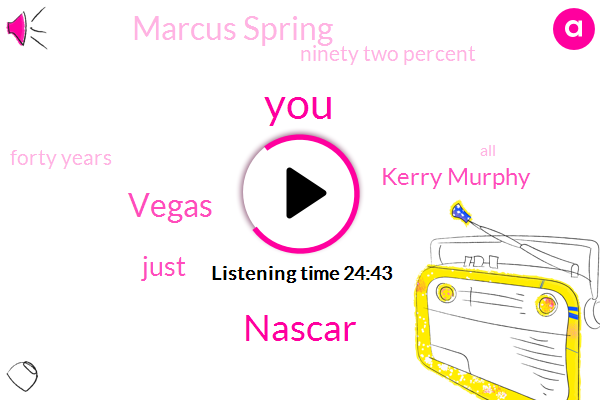 Vegas,Nascar,Kerry Murphy,Marcus Spring,Ninety Two Percent,Forty Years