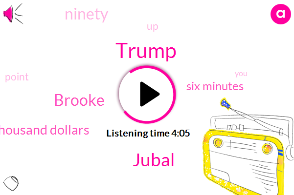 Donald Trump,Jubal,Brooke,Forty Thousand Dollars,Six Minutes