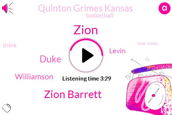 Zion Barrett,Duke,Zion,Williamson,Levin,Quinton Grimes Kansas,Basketball,Trae Jones,Shoka Nasiri,Darius Garland,Carter,North Carolina,Bryan,Alva