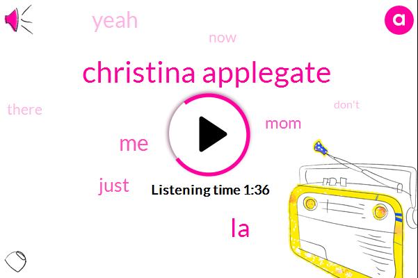 Christina Applegate,LA