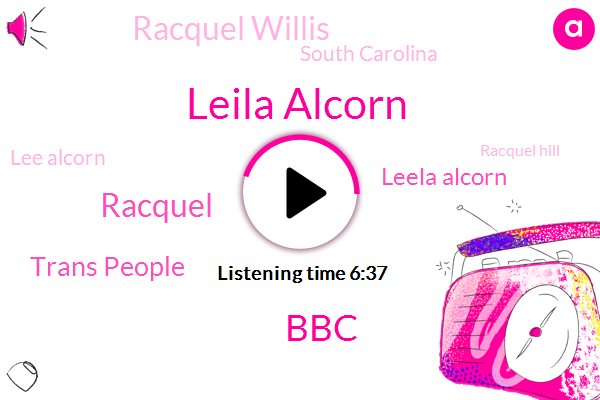 Leila Alcorn,BBC,Racquel,Trans People,Leela Alcorn,Racquel Willis,South Carolina,Lee Alcorn,Racquel Hill,Executive Editor,Twitter,Hugh,Reporter,Kale,Georgia,Tracy,Youtube,Depression,Clayton