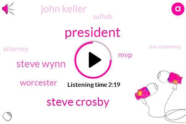 President Trump,Steve Crosby,Steve Wynn,Worcester,MVP,John Keller,Suffolk,Attorney,Stan Rosenberg,Brian Hefner,Don Huff,Boston,Everett,Lana Jones,Baker,Senate,Political Analyst,Assault