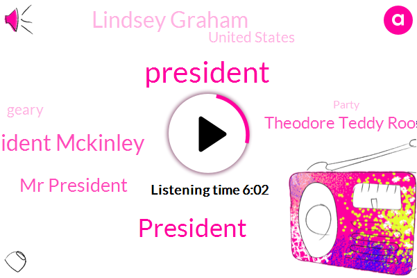 President Trump,President Mckinley,Mr President,Theodore Teddy Roosevelt,Lindsey Graham,United States,Geary,Party,Philippines,Gary,Nicaragua,Cadillac,Buffalo New York,Panama,Temple Of Music,James F. Parker,Hans,Executive
