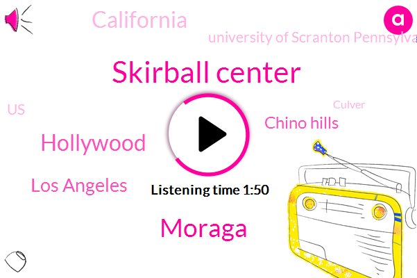 Skirball Center,Moraga,Hollywood,Los Angeles,Chino Hills,California,University Of Scranton Pennsylvania,United States,Culver,Martinez Corporation