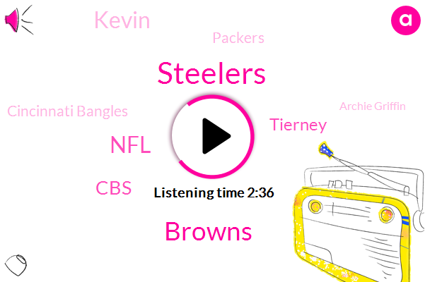 Steelers,Browns,NFL,CBS,Tierney,Kevin,Packers,Cincinnati Bangles,Archie Griffin,Pittsburgh,Buckeyes,Santa,Mike,Washington