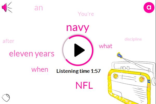 Navy,NFL,Eleven Years