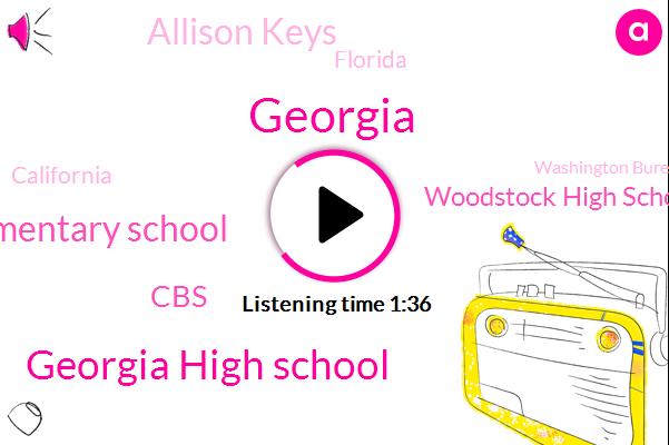 Georgia,Georgia High School,Sea Wind Elementary School,Woodstock High School,CBS,Allison Keys,Florida,California,Washington Bureau,Los Angeles,State Representative,Puerto Rico