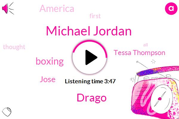 Michael Jordan,Drago,Boxing,Jose,Tessa Thompson,America