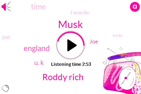 Musk,Roddy Rich,England,U. K,JOE
