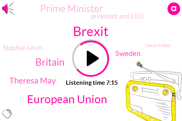 European Union,Britain,Brexit,Theresa May,Sweden,Prime Minister,President And Ceo,Stephan Levin,David Miller,International Rescue Committee,UK,Labour Party,New York City,Parliament,Secretary,ABC