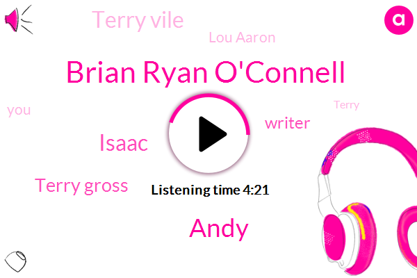 Brian Ryan O'connell,Andy,Isaac,Terry Gross,Writer,Terry Vile,Lou Aaron,Terry,NPR,Ello,Iraq,Michalis,Zack,Mike,Fisher,Oliver,Kurt,Five Dollars
