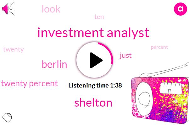 Investment Analyst,Shelton,Berlin,Twenty Percent