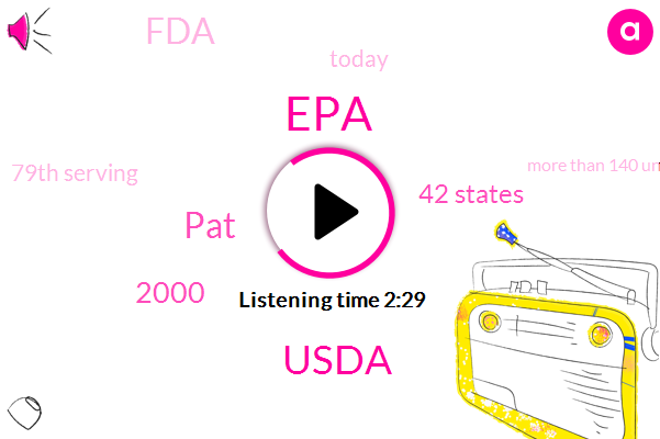 EPA,Usda,PAT,2000,42 States,FDA,Today,79Th Serving,More Than 140 Unregulated Chemicals,DR.,100%,Neil Levin,Over 30 Different Superfoods,SIX,Tens Of Thousands,Levin,Every Single Day,Erinn,DR,Taxify