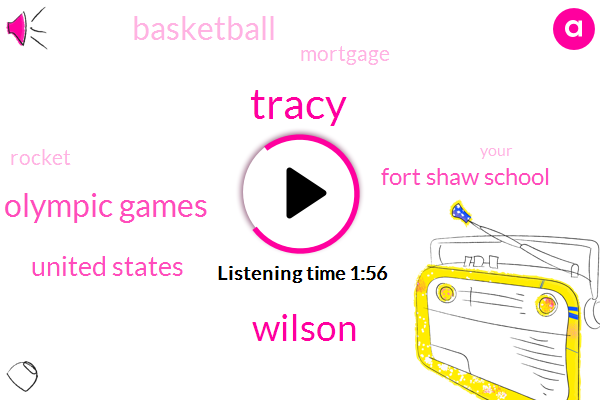 Tracy,Wilson,Olympic Games,United States,Fort Shaw School,Basketball