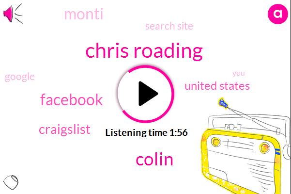 Chris Roading,Clark,Colin,Craigslist,United States,Facebook,Monti,Search Site,Google