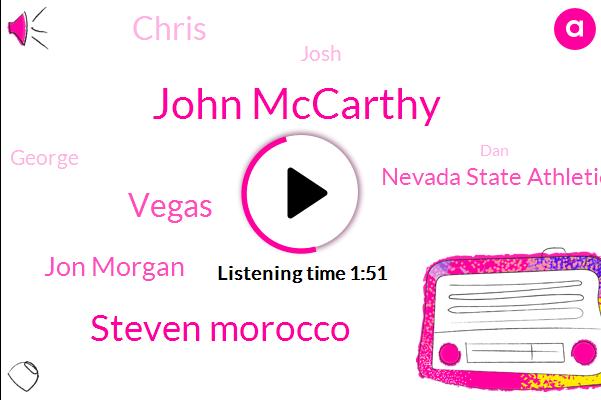John Mccarthy,Steven Morocco,Vegas,Jon Morgan,Nevada State Athletic Commission,Chris,Josh,George,DAN,One Hundred Fifty Five Pounds,Thirty Years