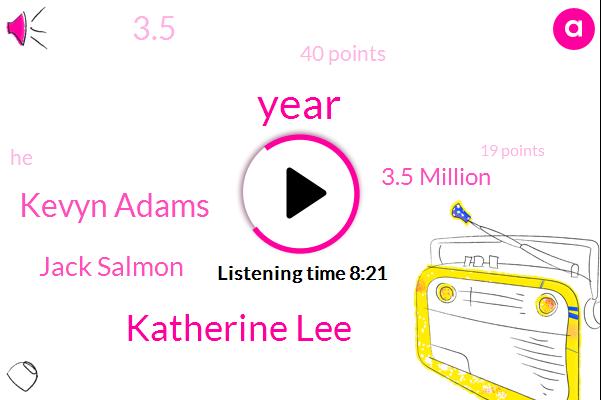 Katherine Lee,Kevyn Adams,Jack Salmon,3.5 Million,3.5,40 Points,19 Points,77 Games,TWO,$4 Million,Two Year,SAM,Jack Sam,Jack,Jack Eichel,22 Years,58 Games,25 Goals,44 Points,45 Point