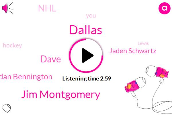 Dallas,Jim Montgomery,Dave,Jordan Bennington,Jaden Schwartz,NHL,Hockey,Lewis,St Louis,Four Seconds