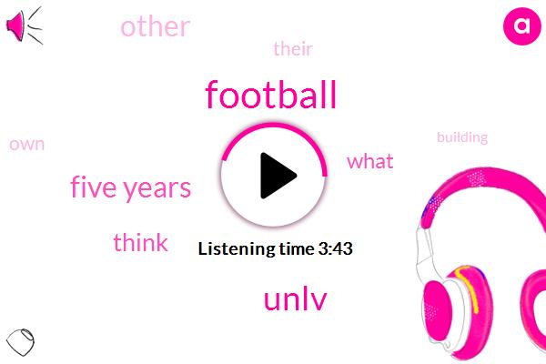 Football,Unlv,Five Years