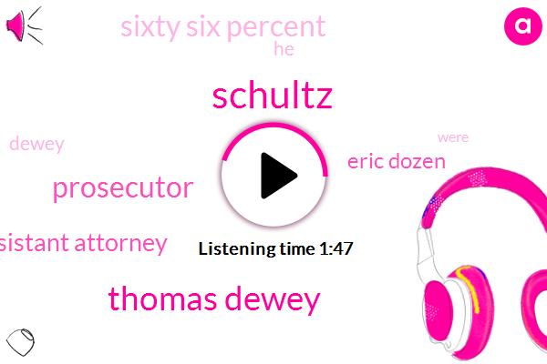 Schultz,Thomas Dewey,Prosecutor,Assistant Attorney,Eric Dozen,Sixty Six Percent