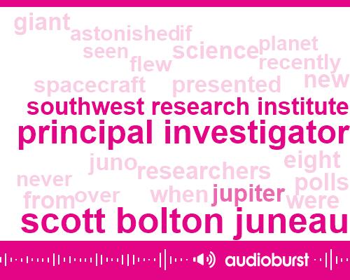 Scott Bolton Juneau,Principal Investigator,Southwest Research Institute,Nasa