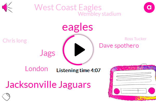 Eagles,Jacksonville Jaguars,Jags,London,Dave Spothero,West Coast Eagles,Wembley Stadium,Chris Long,Ross Tucker,London Jaguar,Beatles,NFL,Glenn Mac,Manila Abbey Road,Baltimore,Philadelphia,Trafalgar Square,UK