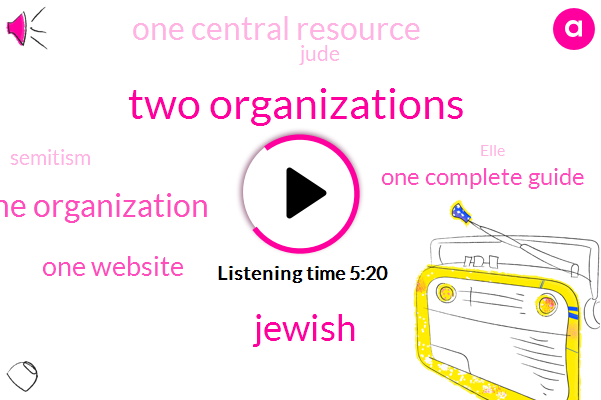 Two Organizations,TWO,One Organization,One Website,ONE,One Complete Guide,One Central Resource,Jewish,Jude,Semitism,Elle,Israel,Zionism