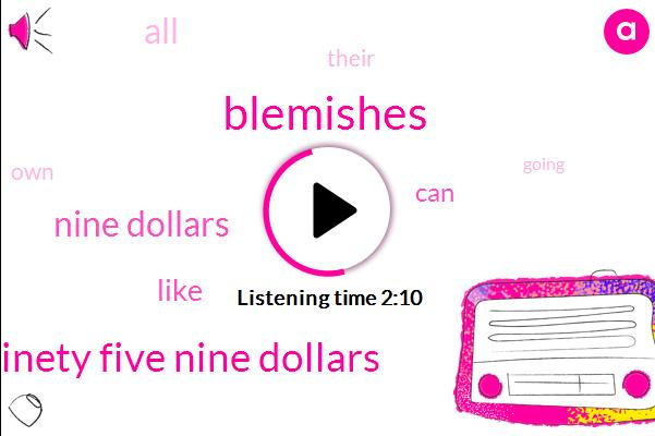 Blemishes,Nine Ninety Five Nine Dollars,Nine Dollars
