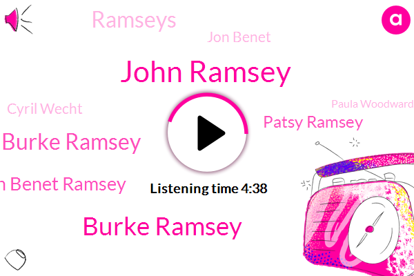 John Ramsey,Burke Ramsey,Patsy Ramsey Burke Ramsey,Jon Benet Ramsey,Patsy Ramsey,Ramseys,Jon Benet,Cyril Wecht,Paula Woodward,Durant,Ford,Manning,JON,Murder,Boulder