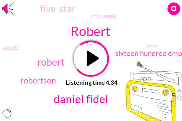 Robert,Daniel Fidel,Robertson,Sixteen Hundred Employees,Five-Star,This Week,Apple,Today,Monday,Five,Liveperson,Nineteen Ninety,Low Casio
