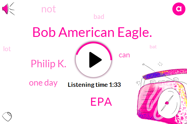 Bob American Eagle.,EPA,Philip K.,One Day