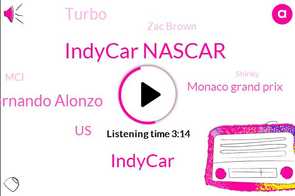 Indycar Nascar,Indycar,Fernando Alonzo,United States,Monaco Grand Prix,Turbo,Zac Brown,MCI,Shirley,Mclaren,Jack,Graham,Imsa