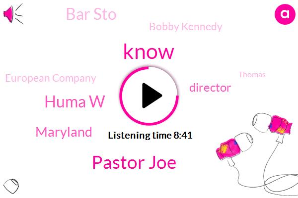 Pastor Joe,Huma W,Maryland,Director,Bar Sto,Bobby Kennedy,European Company,Thomas,Dekker,Elizabeth Rice,Peter Page,Tony,Senate,California