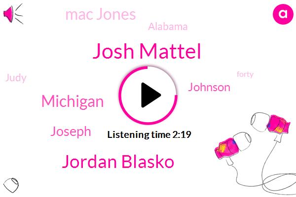 Josh Mattel,Jordan Blasko,Michigan,Joseph,Johnson,Mac Jones,Alabama,Judy,Espn