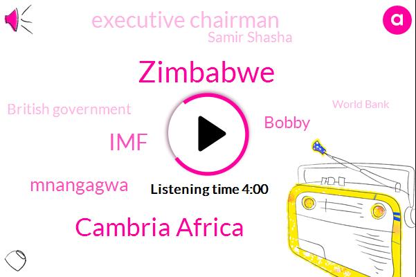 Zimbabwe,Cambria Africa,IMF,Mnangagwa,Bobby,Executive Chairman,Samir Shasha,British Government,World Bank,Harare,BOB,Gagua,Mozambique,Zambia,United States,Katya,Imbaba,CEO,Laurie
