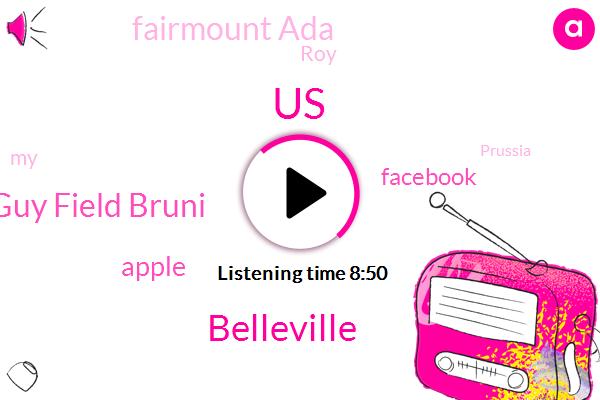 United States,Belleville,Mara Guy Field Bruni,Apple,Facebook,Fairmount Ada,ROY,Prussia,Shea,Dover,Belbow,Lindsey