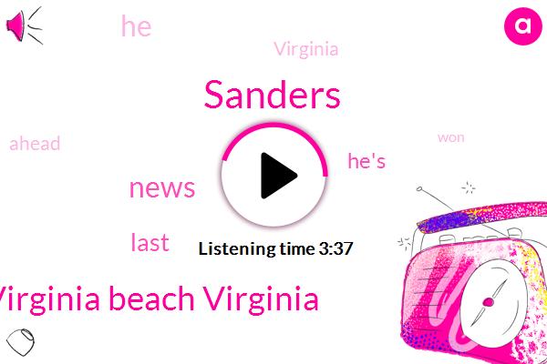 Sanders,Virginia Beach Virginia