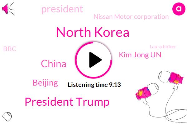 North Korea,President Trump,China,Beijing,Kim Jong Un,Nissan Motor Corporation,BBC,Laura Bicker,South Korea,President Xi Jinping,United States,Turkey,Galapagos Island,John Bolton,Syria,John Sudworth,Tokyo,Kim Jong