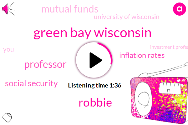 Green Bay Wisconsin,Robbie,Professor,Social Security,Inflation Rates,Mutual Funds,University Of Wisconsin,Investment Professional,IRA,Twelve Percent,Ten Percent