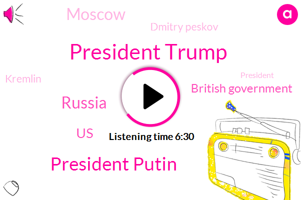 President Trump,President Putin,Russia,United States,British Government,Moscow,Dmitry Peskov,Kremlin,Salisbury,United Kingdom,Us State Department,Yemen,India,London,Hyderabad,Rebecca Kes,Bob Seeley