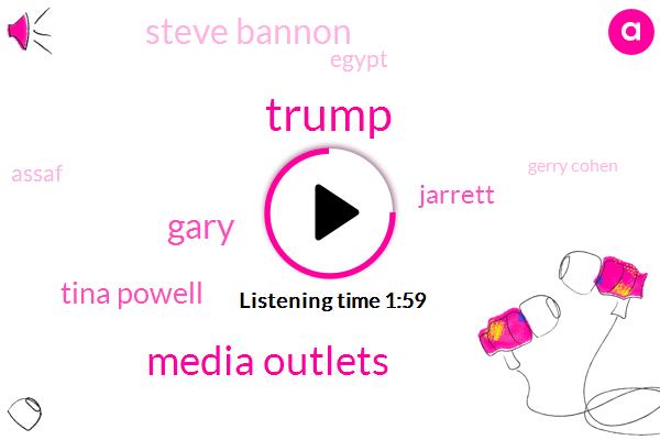 Donald Trump,Media Outlets,Gary,Tina Powell,Jarrett,Steve Bannon,Egypt,Assaf,Gerry Cohen,FA