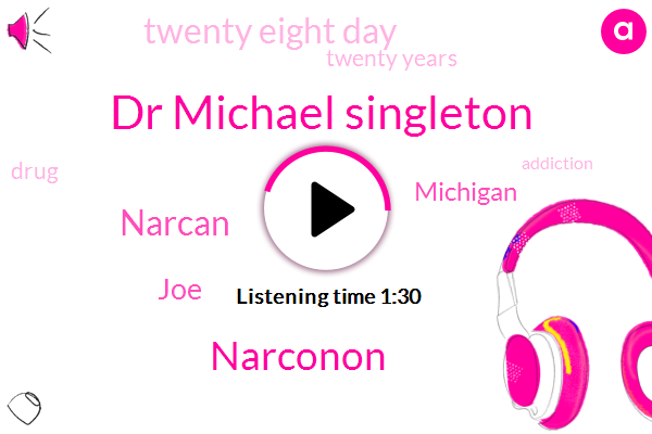 Dr Michael Singleton,Narconon,Narcan,JOE,Michigan,Twenty Eight Day,Twenty Years